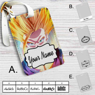 Dragon Ball Z Super Gohan Custom Leather Luggage Tag