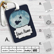 Harry Potter Go to The Moon Custom Leather Luggage Tag