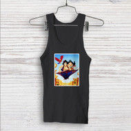 Disney Aladdin and Jasmine WIth Monkey Custom Men Woman Tank Top T Shirt Shirt