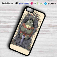 Totoro Umbrella Game of Thrones Iphone 4 4s 5 5s 5c 6 6plus 7 Samsung Galaxy s3 s4 s5 s6 s7 HTC Case