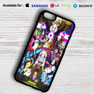 Undertale All Characters on your case iphone 4 4s 5 5s 5c 6 6plus 7 Samsung Galaxy s3 s4 s5 s6 s7 HTC Case