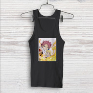 Natsu Dragneel and Lucy Heartfilia Fairy Tail Custom Men Woman Tank Top T Shirt Shirt