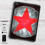 "Bucky Barnes Red Star on Steel iPad 2 3 4 iPad Mini 1 2 3 4 iPad Air 1 2 | Samsung Galaxy Tab 10.1"" Tab 2 7"" Tab 3 7"" Tab 3 8"" Tab 4 7"" Case"