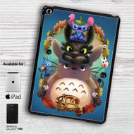 "Disney Stitch Toothless Totoro Studio Ghibli iPad 2 3 4 iPad Mini 1 2 3 4 iPad Air 1 2 | Samsung Galaxy Tab 10.1"" Tab 2 7"" Tab 3 7"" Tab 3 8"" Tab 4 7"" Case"