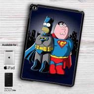 """Homer Simpson Vs Peter Griffin iPad 2 3 4 iPad Mini 1 2 3 4 iPad Air 1 2   Samsung Galaxy Tab 10.1"""" Tab 2 7"""" Tab 3 7"""" Tab 3 8"""" Tab 4 7"""" Case"""