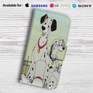 101 Dalmatians Disney Custom Leather Wallet iPhone 4/4S 5S/C 6/6S Plus 7| Samsung Galaxy S4 S5 S6 S7 Note 3 4 5| LG G2 G3 G4| Motorola Moto X X2 Nexus 6| Sony Z3 Z4 Mini| HTC ONE X M7 M8 M9 Case