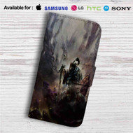 Artorias of The Abyss Dark Souls Custom Leather Wallet iPhone 4/4S 5S/C 6/6S Plus 7| Samsung Galaxy S4 S5 S6 S7 Note 3 4 5| LG G2 G3 G4| Motorola Moto X X2 Nexus 6| Sony Z3 Z4 Mini| HTC ONE X M7 M8 M9 Case