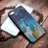 Boba Fett and Stormtroopers Imperial starwars holiday on your case iphone 4 4s 5 5s 5c 6 6plus 7 case / cases
