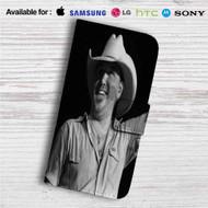 Jason Aldean Custom Leather Wallet iPhone 4/4S 5S/C 6/6S Plus 7| Samsung Galaxy S4 S5 S6 S7 Note 3 4 5| LG G2 G3 G4| Motorola Moto X X2 Nexus 6| Sony Z3 Z4 Mini| HTC ONE X M7 M8 M9 Case
