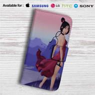 Sexy Mulan Disney Custom Leather Wallet iPhone 4/4S 5S/C 6/6S Plus 7| Samsung Galaxy S4 S5 S6 S7 Note 3 4 5| LG G2 G3 G4| Motorola Moto X X2 Nexus 6| Sony Z3 Z4 Mini| HTC ONE X M7 M8 M9 Case