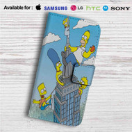 The City of New York vs Homer Simpson Custom Leather Wallet iPhone 4/4S 5S/C 6/6S Plus 7| Samsung Galaxy S4 S5 S6 S7 Note 3 4 5| LG G2 G3 G4| Motorola Moto X X2 Nexus 6| Sony Z3 Z4 Mini| HTC ONE X M7 M8 M9 Case