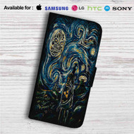 The Legend of Zelda Starry Night Custom Leather Wallet iPhone 4/4S 5S/C 6/6S Plus 7| Samsung Galaxy S4 S5 S6 S7 Note 3 4 5| LG G2 G3 G4| Motorola Moto X X2 Nexus 6| Sony Z3 Z4 Mini| HTC ONE X M7 M8 M9 Case