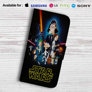 This Phineas and Ferb Star Wars Custom Leather Wallet iPhone 4/4S 5S/C 6/6S Plus 7| Samsung Galaxy S4 S5 S6 S7 Note 3 4 5| LG G2 G3 G4| Motorola Moto X X2 Nexus 6| Sony Z3 Z4 Mini| HTC ONE X M7 M8 M9 Case