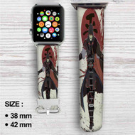Assassin's Creed Avatar The Legend Of Korra Custom Apple Watch Band Leather Strap Wrist Band Replacement 38mm 42mm