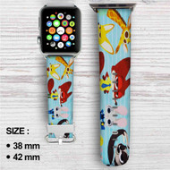 Disney Zootopia Custom Apple Watch Band Leather Strap Wrist Band Replacement 38mm 42mm