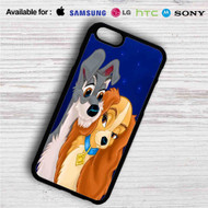 Lady and the Tramp Love Disney iPhone 4/4S 5 S/C/SE 6/6S Plus 7| Samsung Galaxy S4 S5 S6 S7 NOTE 3 4 5| LG G2 G3 G4| MOTOROLA MOTO X X2 NEXUS 6| SONY Z3 Z4 MINI| HTC ONE X M7 M8 M9 M8 MINI CASE