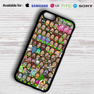 Pocket Mortys Face Characters iPhone 4/4S 5 S/C/SE 6/6S Plus 7| Samsung Galaxy S4 S5 S6 S7 NOTE 3 4 5| LG G2 G3 G4| MOTOROLA MOTO X X2 NEXUS 6| SONY Z3 Z4 MINI| HTC ONE X M7 M8 M9 M8 MINI CASE