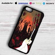 Samurai Jack iPhone 4/4S 5 S/C/SE 6/6S Plus 7| Samsung Galaxy S4 S5 S6 S7 NOTE 3 4 5| LG G2 G3 G4| MOTOROLA MOTO X X2 NEXUS 6| SONY Z3 Z4 MINI| HTC ONE X M7 M8 M9 M8 MINI CASE