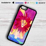 Simba The Lion King iPhone 4/4S 5 S/C/SE 6/6S Plus 7| Samsung Galaxy S4 S5 S6 S7 NOTE 3 4 5| LG G2 G3 G4| MOTOROLA MOTO X X2 NEXUS 6| SONY Z3 Z4 MINI| HTC ONE X M7 M8 M9 M8 MINI CASE