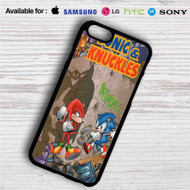 Sonic & Knuckles iPhone 4/4S 5 S/C/SE 6/6S Plus 7| Samsung Galaxy S4 S5 S6 S7 NOTE 3 4 5| LG G2 G3 G4| MOTOROLA MOTO X X2 NEXUS 6| SONY Z3 Z4 MINI| HTC ONE X M7 M8 M9 M8 MINI CASE