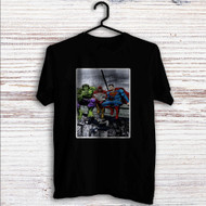 Hulk The Flash Superman Venom Breakfast Custom T Shirt Tank Top Men and Woman