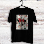 Minnie Mouse Floral Vintage Custom T Shirt Tank Top Men and Woman