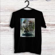 Teenage Mutant Ninja Turtles Fight Custom T Shirt Tank Top Men and Woman