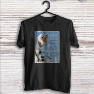 Olaf Frozen Quotes Custom T Shirt Tank Top Men and Woman