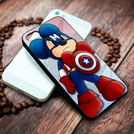 Captain america  Mickey on your case iphone 4 4s 5 5s 5c 6 6plus 7 case / cases