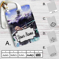 Kirito and Asuna Sword Art Online 1 Custom Leather Luggage Tag