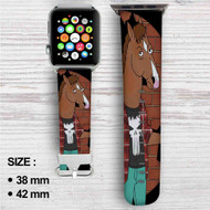 Bojack Horseman Custom Apple Watch Band Leather Strap Wrist Band Replacement 38mm 42mm