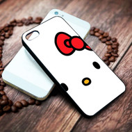 Cartoon Hello Kitty on your case iphone 4 4s 5 5s 5c 6 6plus 7 case / cases