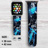 Dead Space Custom Apple Watch Band Leather Strap Wrist Band Replacement 38mm 42mm