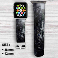 Metro Redux games Custom Apple Watch Band Leather Strap Wrist Band Replacement 38mm 42mm