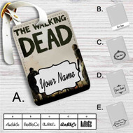 Walking Dead The Game Custom Leather Luggage Tag