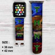 Teenage Mutant Ninja Turtles TMNT Custom Apple Watch Band Leather Strap Wrist Band Replacement 38mm 42mm