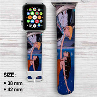 The Venture Bros Custom Apple Watch Band Leather Strap Wrist Band Replacement 38mm 42mm