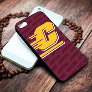central michigan university on your case iphone 4 4s 5 5s 5c 6 6plus 7 case / cases