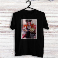 Alice in Wonderland Through the Looking Glass Custom T Shirt Tank Top Men and Woman