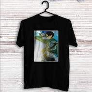 Captain Levi Attack On Titan Custom T Shirt Tank Top Men and Woman