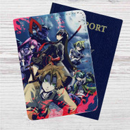 Akame ga Kill Custom Leather Passport Wallet Case Cover