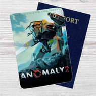Anomaly 2 Custom Leather Passport Wallet Case Cover