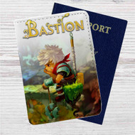 Bastion Custom Leather Passport Wallet Case Cover
