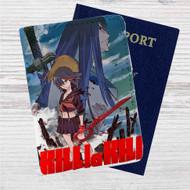 Kill la Kill Custom Leather Passport Wallet Case Cover
