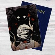 Over The Garden Wall Dark Custom Leather Passport Wallet Case Cover
