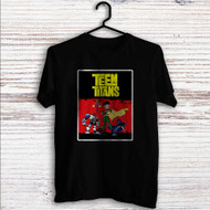 Teen Titans 2 Custom T Shirt Tank Top Men and Woman