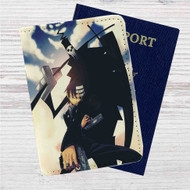 Soul Eater Death The Kid Custom Leather Passport Wallet Case Cover