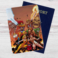 Thundercats Custom Leather Passport Wallet Case Cover