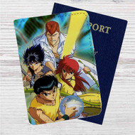 Yu Yu Hakusho 2 Custom Leather Passport Wallet Case Cover