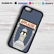 Futurama Bender Applause iPhone 4/4S 5 S/C/SE 6/6S Plus 7| Samsung Galaxy S4 S5 S6 S7 NOTE 3 4 5| LG G2 G3 G4| MOTOROLA MOTO X X2 NEXUS 6| SONY Z3 Z4 MINI| HTC ONE X M7 M8 M9 M8 MINI CASE